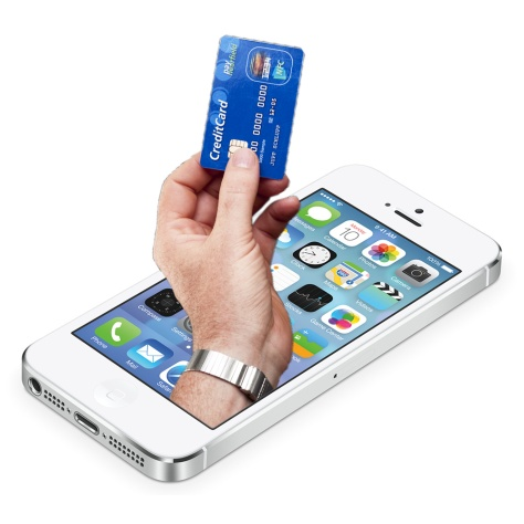 Soon you'll be use your iPhone as your Visa credit card