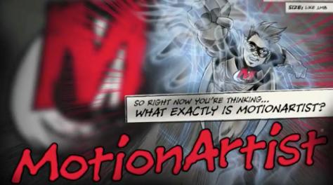 Motion Artist animates your comics