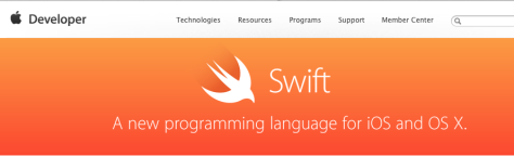 Apple's Swift resource page