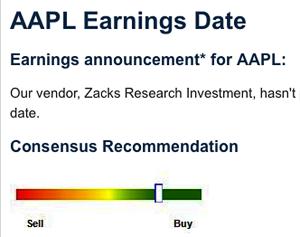 Apple's latest earnings