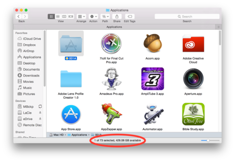 How many apps do you have on your Mac?