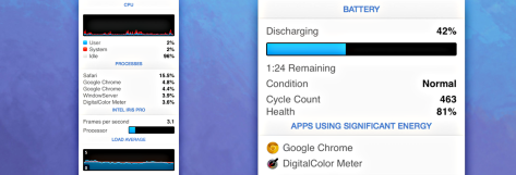 iStat Menus now supports Yosemite, adds many features