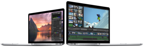 MacBook Pro 2014 is slightly faster, offers better value