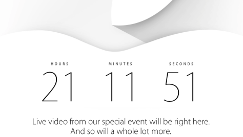21 hours to go ... 5am Wednesday morning  NZ time the Apple Event starts.