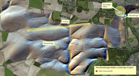 The area around Stonehenge was busier than previously guessed
