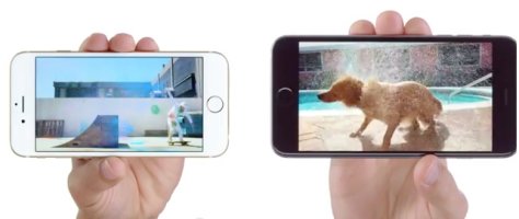 Apple has been airing iPhone 6 ads