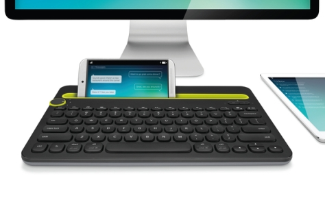 Great Logitech idea: one keyboard for Mac, iPhone and iPad