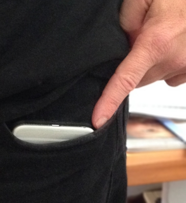 You can get a 6 Plus in your jeans pocket – but you probably shouldn't