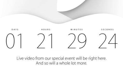 Apple Event Timer