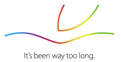 Apple's invite to the 16th October event