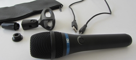 IK Multimedia's new HD mic comes with everything you need for better quality recordings
