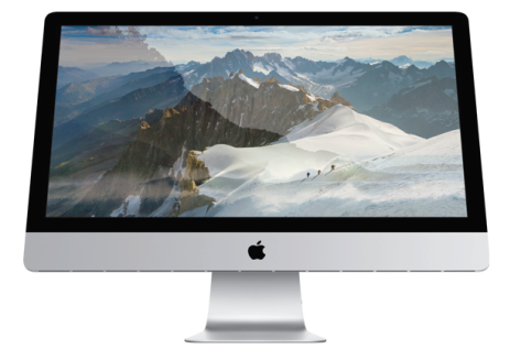 The Retina iMac (image from Apple Inc).
