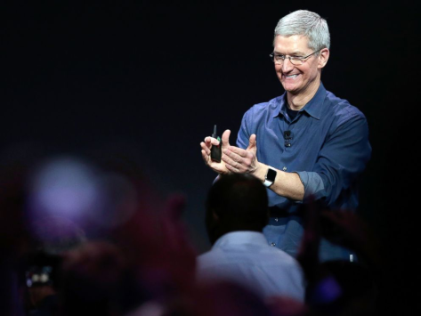 Tim Cook, the Apple Watch and the issue over sapphire glass (image from ABC news).