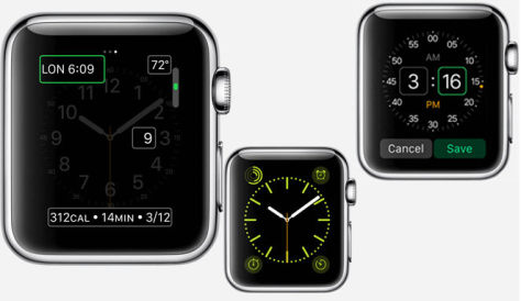 Refreshed Apple Watch site offers a glimpse at the device's user interface