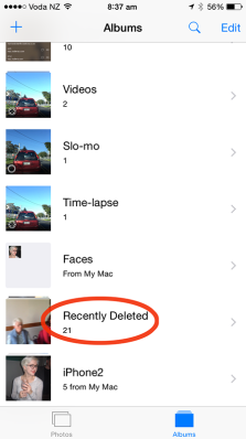 You can now 'undelete' trashed images, within 30 days anyway