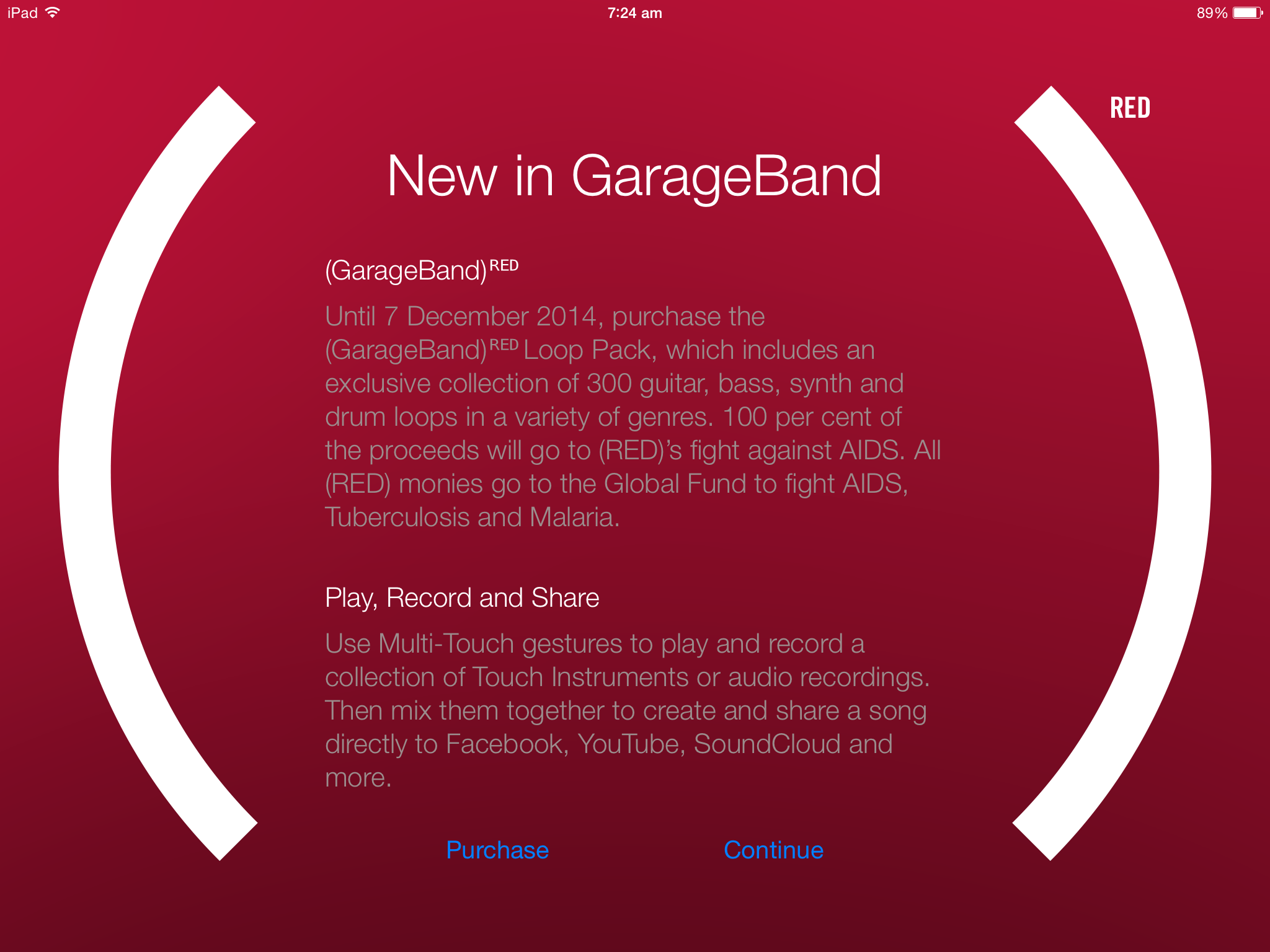 Red Garageband Loops Iphone 6 App Surge All The Red Ios Deals Mac Nz