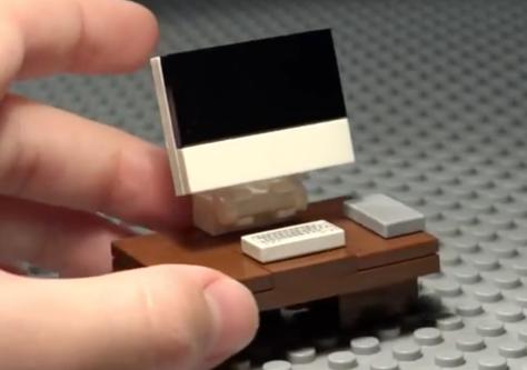 Build a Lego iMac