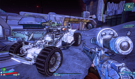 Moon Buggy transport – but it's weaponised