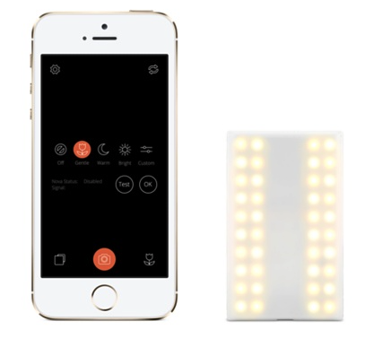 Handy flash for iPhone photography – let's hope we can buy it here soon.