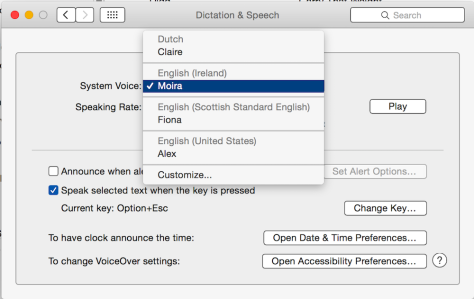 Yosemite added the ability to voice-command your Mac