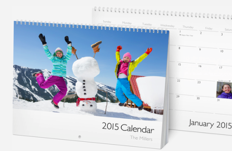 iPhoto lets you build calendars as well as books.