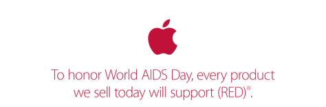 Looks like we don't get gift cards, only donations to the AIDS charity.