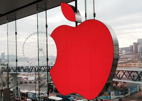 Apple has turned its Store logos red for World AIDS Day