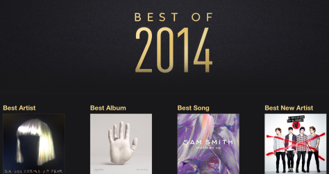 iTunes has published its Best of 2014