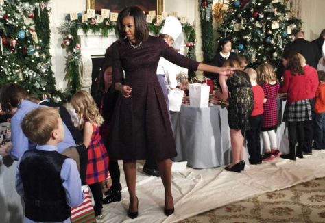 Photographer Brooks Kraft took some informal Christmas snaps in the Whitehouse using iPhone 6
