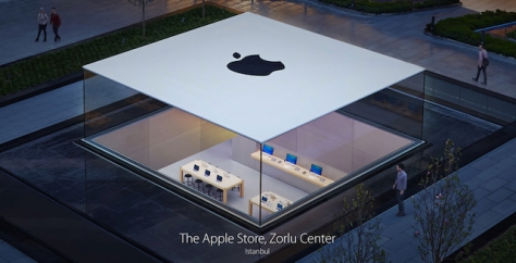 Apple's Store in Turkey is described as 'the Glass Lantern'