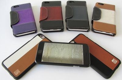 The Maroo range: wallets above, and the three