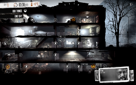 This War of Mine has you make life-and-death decisions driven by your conscience
