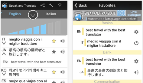 App turns your mobile device into a simultaneous interpreter