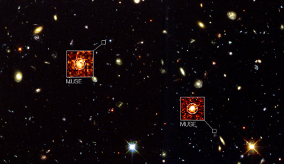 A view of deep space resulting from the next generation of IFU spectroscopy.