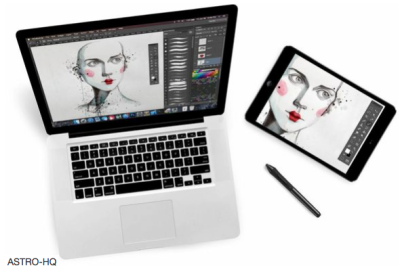Astropad unifies the iPad and Mac screens into one mirrored interface.