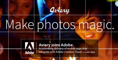 Aviary and other photo editors