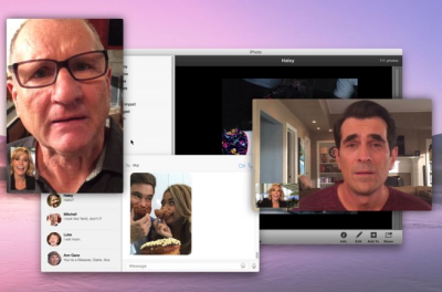 An upcoming Modern Family episode will play out on a Mac OS X desktop