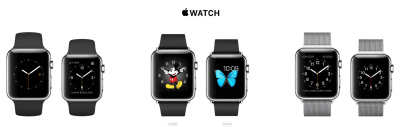 Apple's Watch gallery page