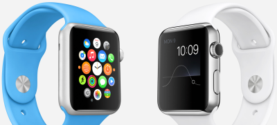 Buyers are about to get their first Apple Watches (image from Apple Inc).