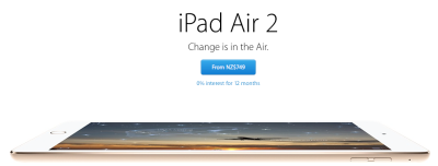 Image from Apple's NZ online Store page.