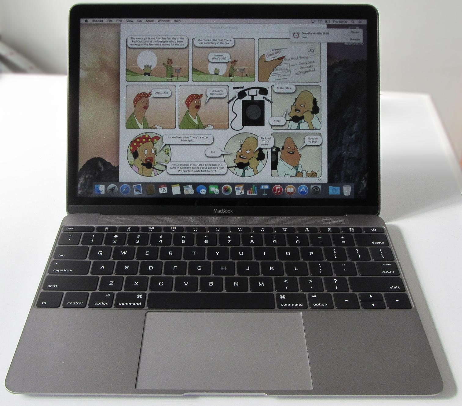 macbook keystrokes