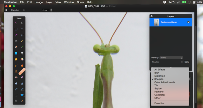 Pixelmator now supports Force Touch and has a revamped Repair tool