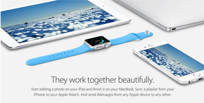 Apple is placing emphasis on software integration across its major platforms, highlighting inter-device operability between flagship iPhone, iPad, MacBook and Apple Watch products.