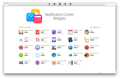 Notification Cetre aware apps