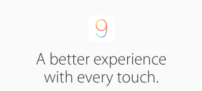 Picture from Apple's iOS 9 preview page