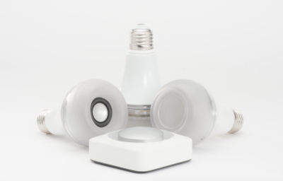 Take your own light and speaker with you with Twist