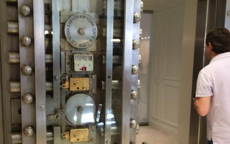 Apple's Upper East Side VIP room is in a former bank vault