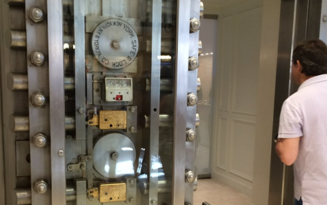 Apple's Upper East Side VIP room is in a former bank vault