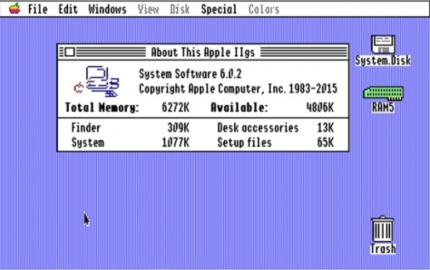 An update just arrived for the IIgs after 22 years!