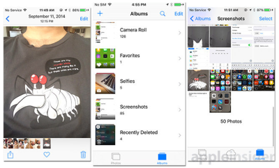 iOS 9 adds Photos features like a Selfies category